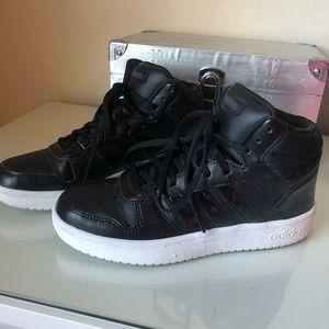 Adidas High top black sneakers